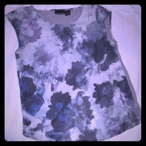 DKNY JEANS floral top